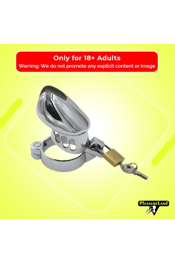 3 Size Metal Male Chastity...